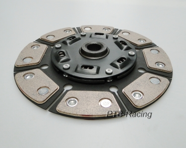 228mm clutch disc 8Pad sintered metal - torsionally dampened for 02A gearboxes