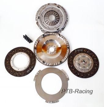2 discs clutch kit for VW R32 2.8 V6 Vr6 02M 6 speed