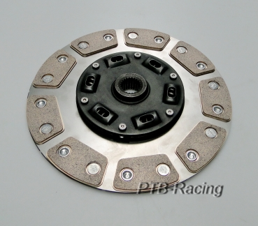 240mm clutch disc 9Pad sintered metal - torsionally dampened